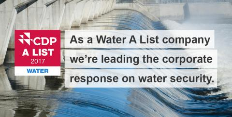 "FIRMENICH ON CDP ""A LIST"" FOR SUSTAINABLE WATER MANAGEMENT ADDING TO ""A LIST"" FOR CLIMATE"