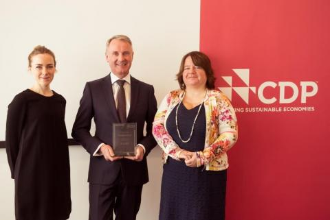 "FIRMENICH NAMED CDP ""SUPPLY CHAIN LEADER"" ACROSS GERMANY, AUSTRIA AND SWITZERLAND"